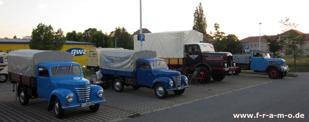 Framo B96-Tour – mit dem Framo von Zittau bis nach Saßnitz