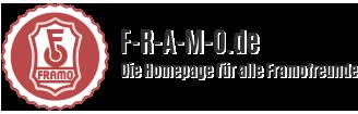 f-r-a-m-o.de – Die Homepage für alle Framofreunde