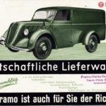 Framo Prospekt Deckblatt
